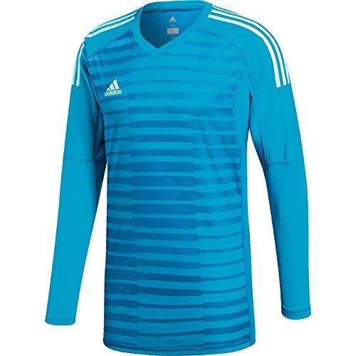 Jersey Graphic Goalkeeping (adidas Mens ADIPRO 18 GoalKeeper Jersey Long Sleeve bold aqua/unity blue/energy aqua For Soccer)