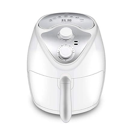 LICIDI Aire Sin Freidora Sartén eléctrica Baja en Grasas Saludable Lavavajillas Desmontable, Manual y Automático