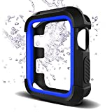Bellamei Compatible Apple Watch Case 42mm Shock-Proof Shatter-Resistant Protective Case Soft Silicone Sport