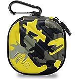 Tizum Tm-Epc-112-Yel Earphone Carrying Case (Camouflage Yellow)