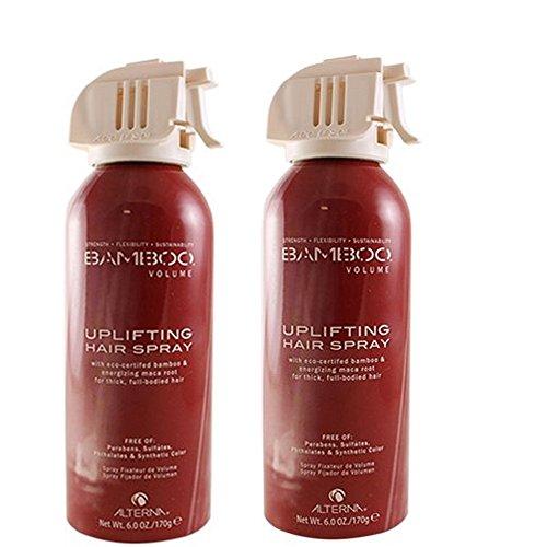 ALTERNA Bamboo Volume Uplifting Hir Spray (Quantity of 2) (Alterna Caviar Volume Shampoo)