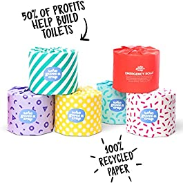 3-Ply Toilet Rolls | 100% Recycled | Who Gives A Crap