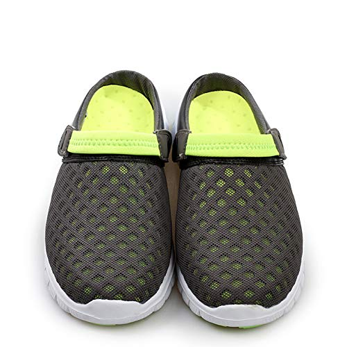 Verde Sabot Scarpe Zoccoli Donna Pantofole Da Estate Spiaggia Casual Respiranti Uomo Unisex 5qaxPw5
