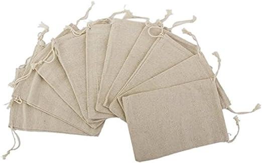Artículos para el hogar Bolsas de arpillera Vintage con Bolsas de ...