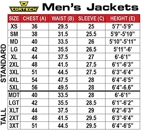 XX-Large Cortech Mens Fusion Motorcycle Jacket Black Winter and Summer Vented Waterproof Riding Jacket with Thermal Liner for Spring