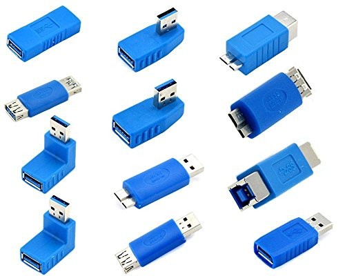 Kingtop USB 3.0 Adapter Coupler 12 Pack