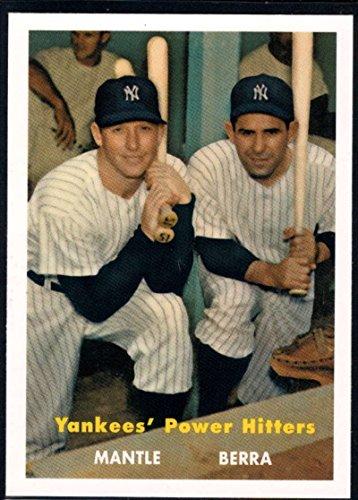Yogi Berra Card (Baseball MLB 2010 Topps Update Cards Your Mom Threw Out #CMT122 Yogi Berra/Mickey Mantle Yankees)