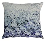 Sea Spray Velvet Cushion W/Fea Multi Dimensions: 24''W x 0.4''D x 24''H Weight: 0 lbs