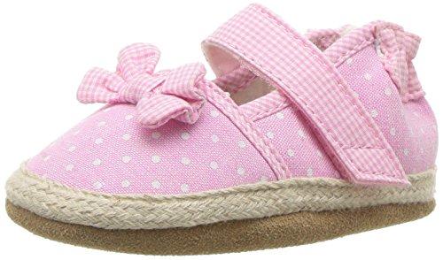 Robeez Girls' Buttercup Espadrille Sandal, Pink, 18-24 Months M US Infant ()