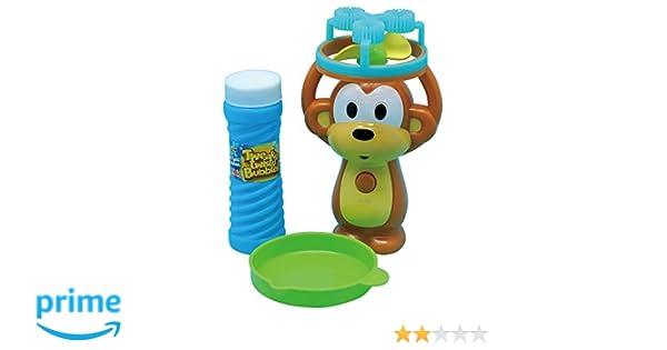 Amazon.com: Monkey Bubble Machine, Motorized, Handheld, Rainbow Bubbles: Toys & Games