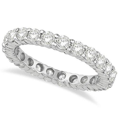 Diamond Eternity Ring Wedding Band Palladium (2.50ct)