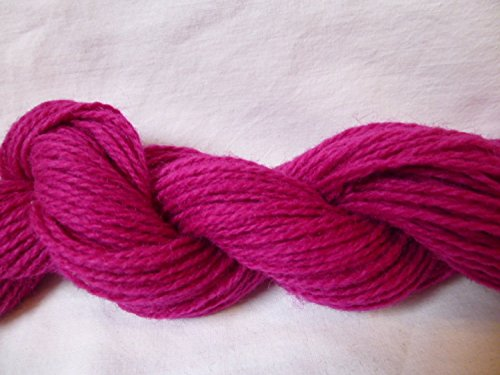 Sport Weight Wool Yarn (Magenta 100% Wool Dk Sports Weight Knitting)