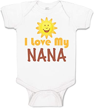 Custom Toddler T-Shirt I Love My Great Grandma Grandmother Boy /& Girl Clothes