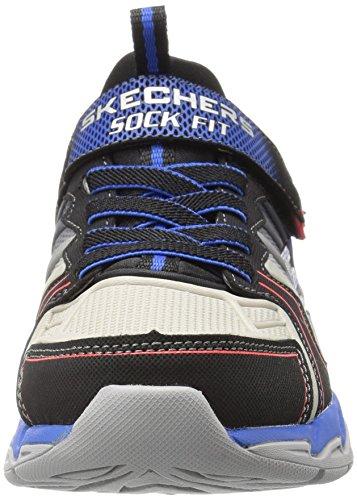 Skechers Gunray Air Protium Kids Trainers Boys Shoes Sneaker BKRB