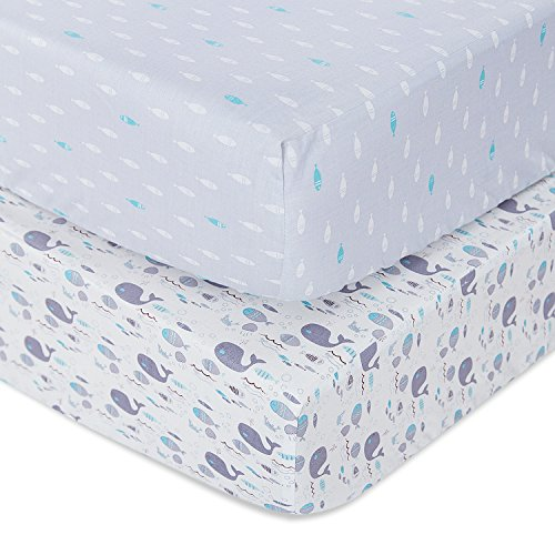 Review TILLYOU Printed Crib Sheets