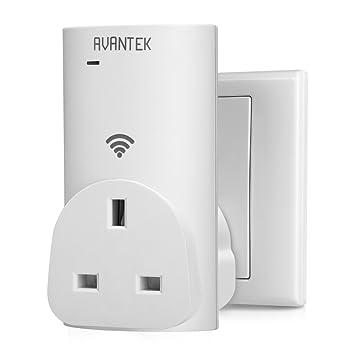 Control remoto inalámbrico Socket, AVANTEK Smart WiFi ...
