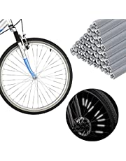 Floepx 72 stuks spaakreflectoren, reflectoren fiets waterdicht, zichtbaarheid spaakreflectoren, spaakreflectoren, fietsreflectoren, spaakreflectoren, fiets, eenvoudige montage