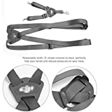 Adjustable Remote Controller Lanyard Strap Shoulder Strap Belt Sling for DJI Phantom 3 Professional, Advanced, Standard, 4K /Phantom 2 Vision, Inspire 1 Transmitter, 2.5cm Width(Shoulder Strap)