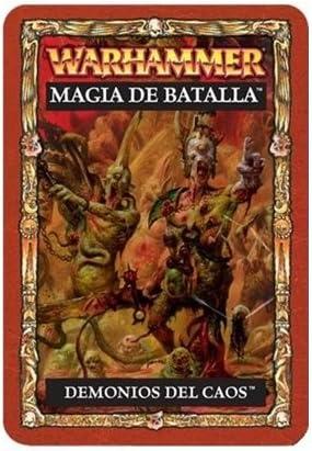 Warhammer 83-02-03. Cartas Magia Guerreros Caos: Amazon.es: Juguetes y juegos
