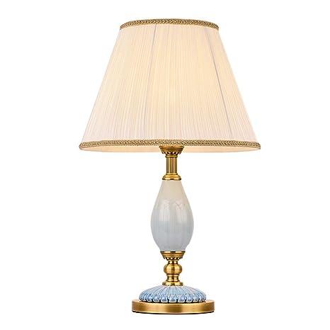 C-J-Xin Lámpara de Mesa de cerámica Decorativa, lámpara de ...