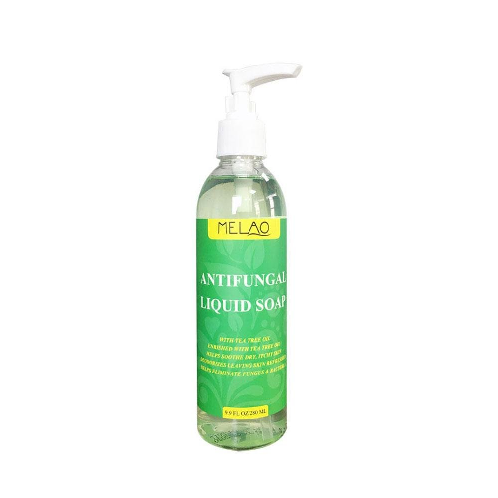Antifungal Tea Tree Oil Soap, niceEshop(TM) Natural Foot & Body Wash, Helps with Nail Fungus, Athlete Foot, Ringworms, Jock Itch & Body Odor, 9.9 Fl Oz