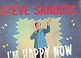 STEVE SANDERS - i'm happy now CANAAN 4648 (LP vinyl record)