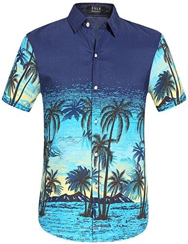 Blue Aloha Shirt - 8