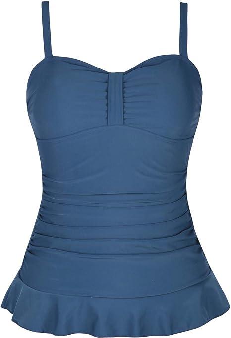 Amazon.com: Hilor Vestido de baño para mujer con estilo ...