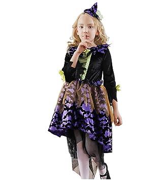 27b6fa58bc0c0 ハロウィン 仮装 魔女 子供服 変装 キッズ ハロウィン コスプレ 女の子 ワンピース コスチューム ハロウィン 衣装 ウィッチ デビル