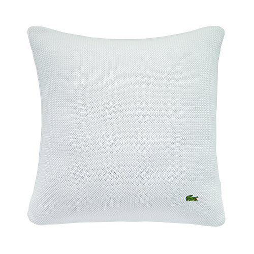 Lacoste Diagonal Basketweave 18x18 Throw Pillow