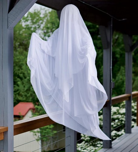 amazoncom spinning ghost battery operated halloween decoration home kitchen