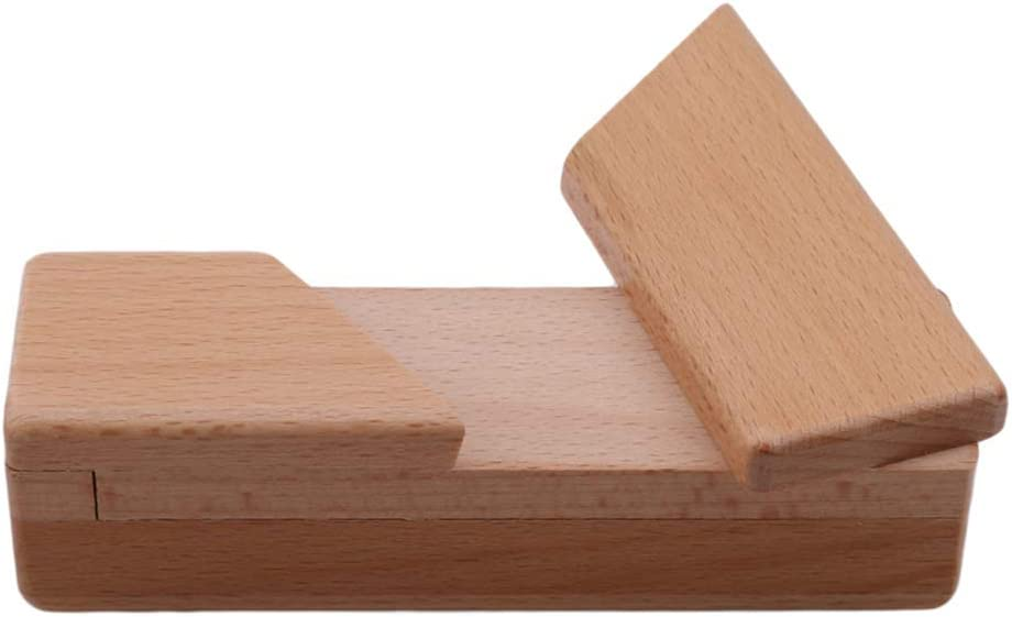HYhy Rompecabezas de Madera Apertura Secreta Puzzle Box Magic Box ...