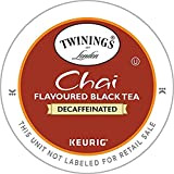 Best Twinings Tea Cups - Twinings Chai Decaf, K-Cup Portion Pack for Keurig Review
