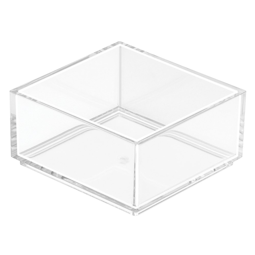 InterDesign Clarity Cosmetic Drawer Organizer for Vanity Cabinet to Hold Makeup, Beauty Products - 8