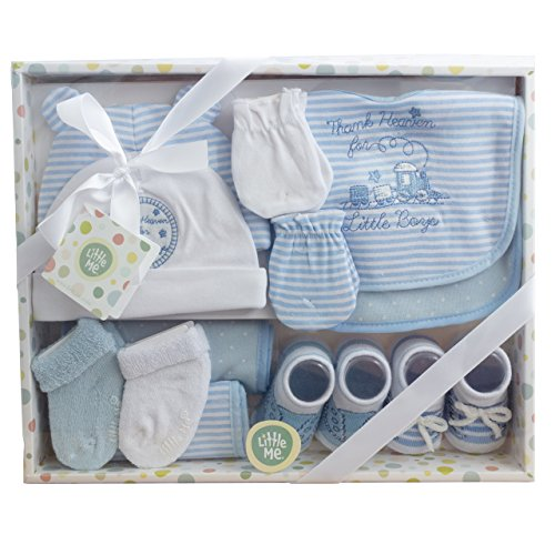 (Little Me 12 Piece Take Me Home Gift Set for Newborn Baby Boys)