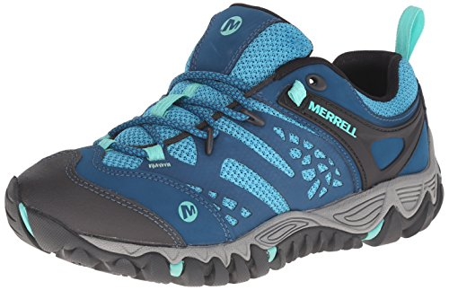 Merrell Women's All Out Blaze Ventilator Hiking Shoe, Turquoise/Aqua, 9 M US by Merrell