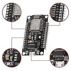 AZDelivery NodeMCU Lolin V3 Modulo ESP8266 ESP-12F WIFI con CH340 Tarjeta de Desarrollo Wifi 2.4 GHz con E-Book incluido!