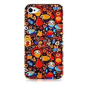 JJECartoon Tumbler Pattern Silicone Soft Case for iPhone5/5S