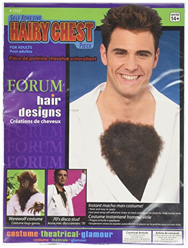 Hairy Chest (Halloween Costume Chest Hair)