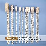 40 Yards Lace Trim Vintage Lace Ribbon Crochet Lace