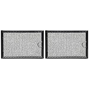 GE Microwave Grease Filter WB06X10654 - by All-Filters Pack of 2