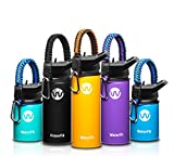Best Insulated Water Bottle For Kids - WaterFit Vacuum Insulated Water Bottle - Double Wall Review