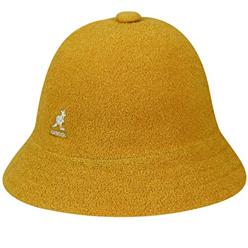 (Kangol Men's Bermuda Casual Bucket Hat Classic Style, Goldie (X-Large))