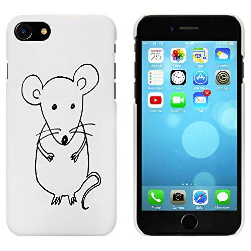 Blanc 'Mignon Souris' étui / housse pour iPhone 7 (MC00068578)