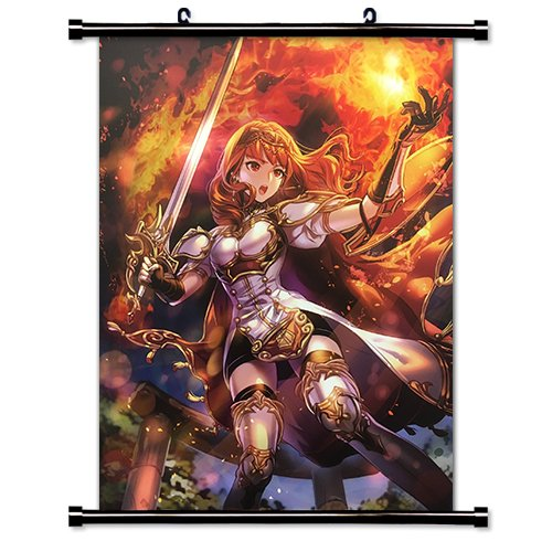 Fire Emblem Echoes Shadows of Valentia Video game Wall Scrol