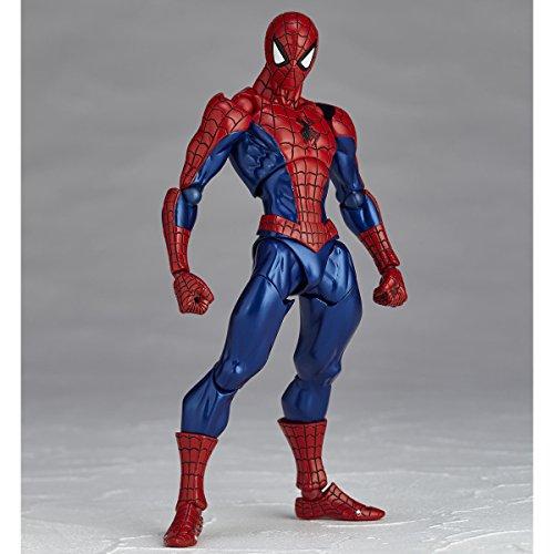 Spider-Man Amecomi Yamguchi No.002 Revoltech Action Figure
