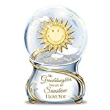 Bradford Exchange Musical Glitter Globe for Granddaughter with Poem Card: Theby The