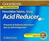 Good Sense Famotidine Tablets 10 Mg Acid Reducer Case Pack 24