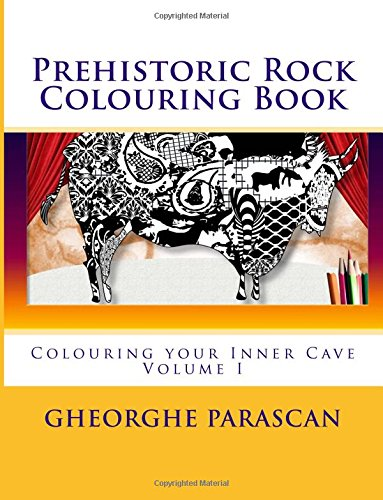 Prehistoric Rock Coloring Book: an Inner Cave Coloring Book