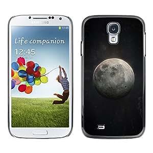 [Neutron-Star] Snap-on Series Teléfono Carcasa Funda Case Caso para Samsung Galaxy S4 [Luna Arte Cosmos cielo nocturno Universo]